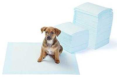 AmazonBasics Regular Pet Dog and Puppy Training Pads - Pack of 150