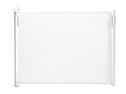 ラスカル キディガード 階段上設置可能 ロール式 ゲート バリアフリー フリーサイズ アシュア ホワイト