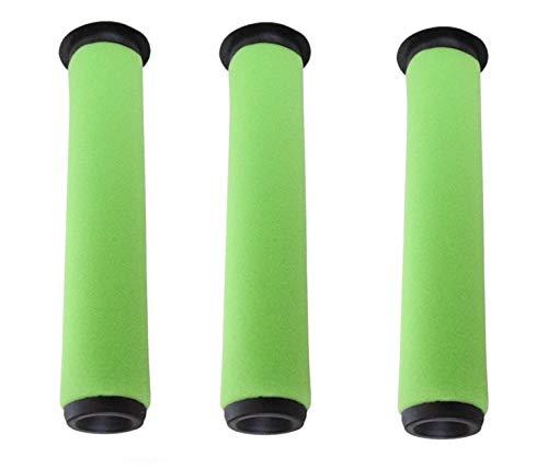 EFP Vacuum Filter for Gtech AirRam MK2 K9 Cordless Vac G-Tech 22v Stick Cleaner - 3 Pack