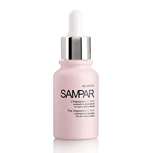Sampar - L'Impossible C-Rum - Anti-Falten + Anti-Flecken + Feuchtigkeitsversorgung + Straffung + Ausstrahlung - Konzentrat 5 Anti Aging Wirkungen - 30 ml Pipettenflasche
