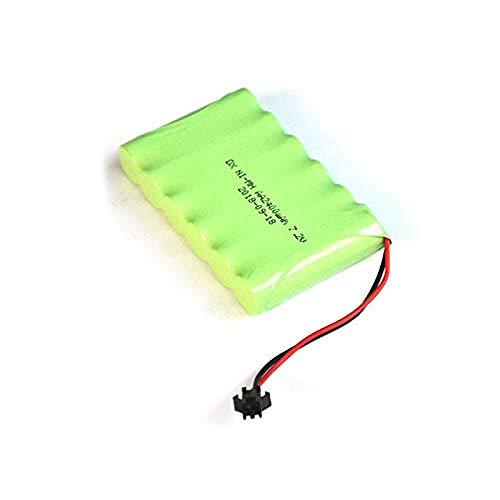 Compatible para Ni-Mh 7.2V AA Paquete de batería Recargable 2400mah AA Cell pour RC Coche Helicóptero Juguetes Luz LED Teléfono inalámbrico Enchufe SM