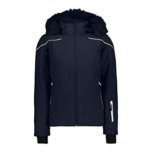 CMP Damen Skijacke Jacke, Black Blue, D38