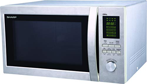 Sharp R78 R-78BT(ST) 43-Liter Microwave Oven with Grill, 220 Volts (Not for USA)