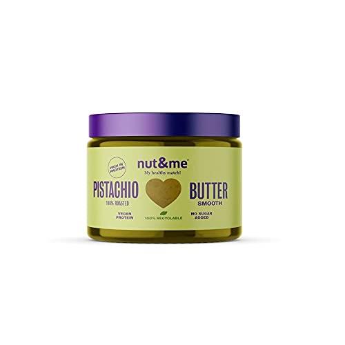 Crema de Pistacho nut&me 250 gr | 100 % Natural | Sin Azúcares añadidos | Sin Aditivos | Vegano