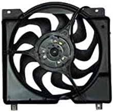 TYC 620560 Jeep Cherokee Replacement Radiator/Condenser Cooling Fan Assembly