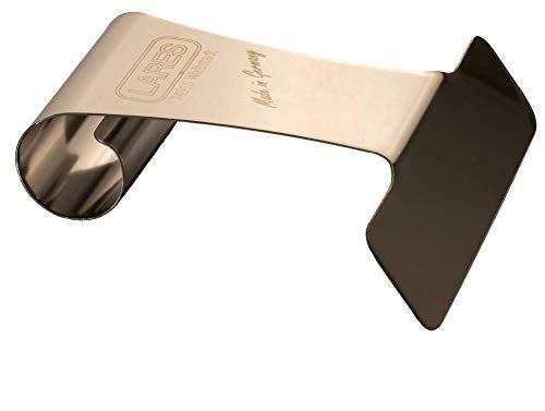 Lares Streichhilfe mit Griff - um gleichmäßigen Verstreichen von Teig, Creme und Sahne - aus Edelstahl - Made in Germany
