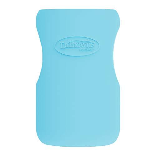 Dr Brown's Options Glazen Flessenhoes, 270 ml, Blauw