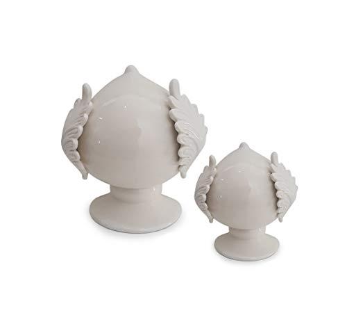 Lupia Pumo Salentino Dekoration aus Keramik, typisch pulisch