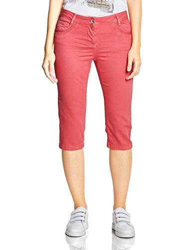 CECIL Damen 372196 Victoria Hose per pack Rot (neo coralline red 11664), W33(Herstellergröße:33)