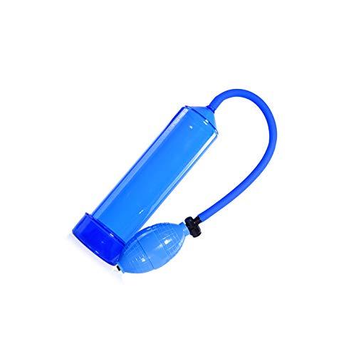 GFHDJH Pleasure Advanced 7,9 Zoll Blau Vakuum-Pênǐs-Pumpen PumpRêctǐon-Pumpe Pênnǐs-Pumpe Mit Druckverstellbarem Pistölgriff Griffförmige Pênǐle-Pumpe Für Männer Mit Ringen Für ED Beginne