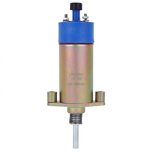 Interruptor de válvula solenoide Flameout Solenoide de válvula solenoide Flameout para máquina(155-4654 (12v), Pisa Leaning Tower Type)