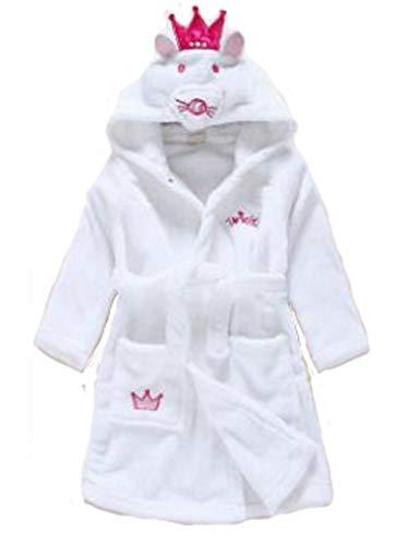 Pasen Baby Badjassen Kinderen Meisjes Jongens Cosplay Peuter pyjama Badjas Capuchon Eenvoudige Stijl Handdoek Flannel Fleece 1 2 3 4 5 Jaar Thuis Mode Comfortabele pyjama