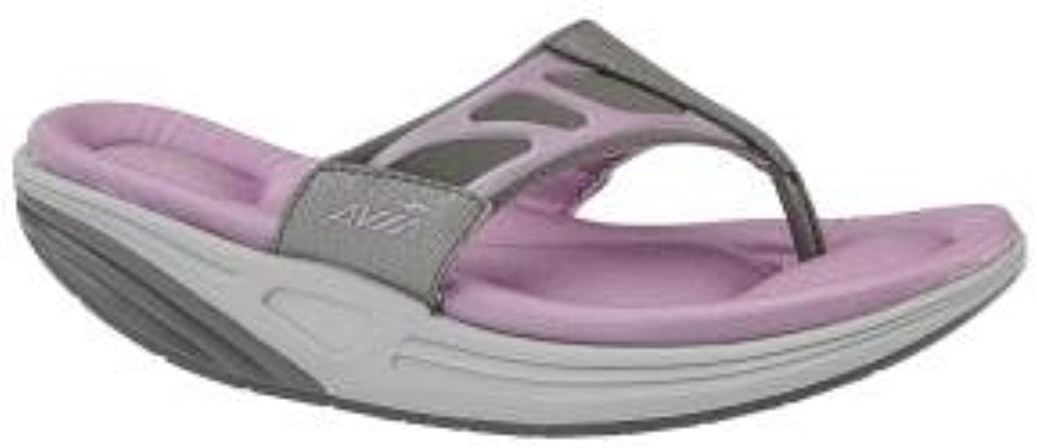 Avia Avi-Motion Women's Grey & Pink Sport Flip Flop Sandals (8 M)