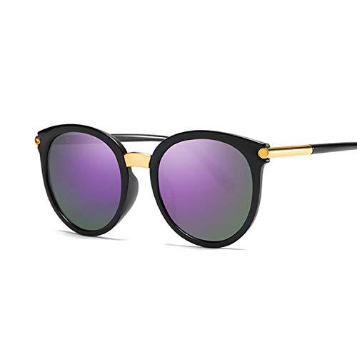 Vintage Redondo Ojo De Gato Mujer Gafas De Sol Moda Mujer Gafas De Sol Retro Color Círculo Cateye Gafas De Sol