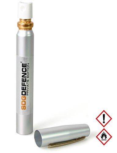SDG Pfefferspray im Slim-Design zur Selbstverteidigung, 12 ml