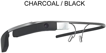 Google Glass XE V2   Reading Glass Frame (4 Options) (Charcoal Black)