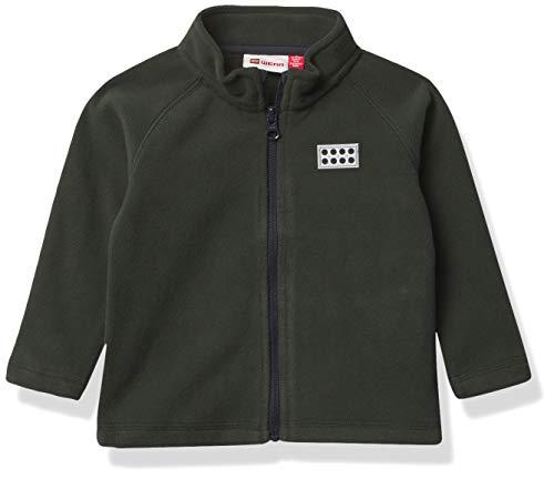 Lego Wear Jungen Full-Zip Jacket Fleece-Jacke, dunkelgrün, 152
