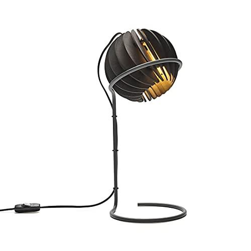 Van Tjalle en Jasper Atmosphere - Lámpara de escritorio, color negro