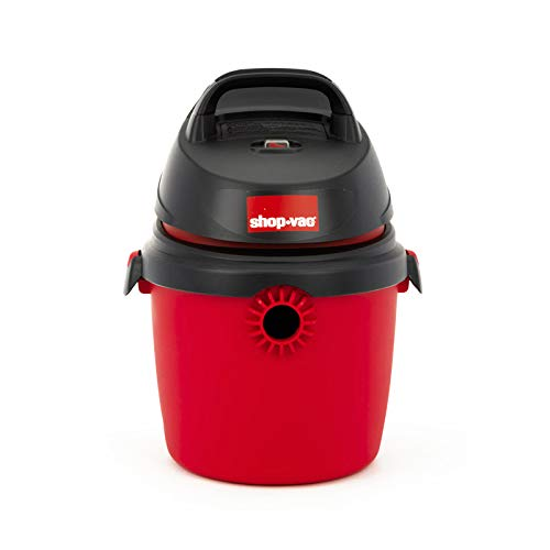 Shop-Vac Aspiradora Portatil 2.5 GAL 2.0 HP 120v con Accesorios Red