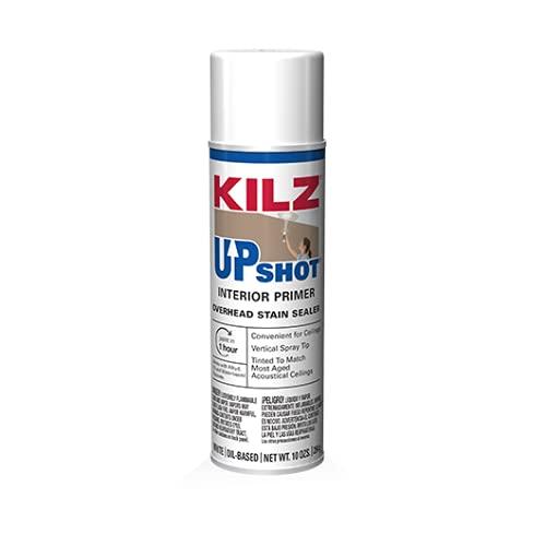 New Kilz 10007 Upshot 10oz Oil Spray Ceiling Stain Killer Primer Paint 6571111'