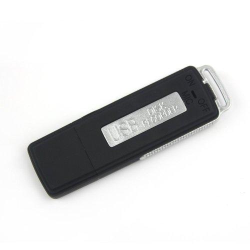 REGISTRATORE AUDIO VOCALE SPIA 4 GB , SPY RECORDER KEY DVR PEN USB MICROSPIA