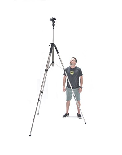"Glide Gear TST 100 Very Tall Sports Soccer Real Estate 120"" Video Camera Photography 10 FT Tripod Stand w/Ball Head"