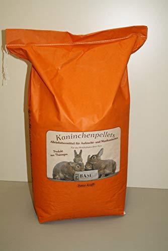 BASU Aufzucht Spezial Nature Kok Kaninchenpellets Kaninchen Futter Pellets mit Pflanzenextrakten gegen Kokzidiose 25 kg