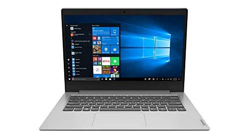 Lenovo IdeaPad Slim 1 Notebook, Display 14  HD, Processore AMD A4-9120e, 64 GB eMMC 5.1, RAM 4 GB, Windows 10, Platinum Grey