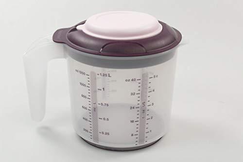 Tupperware Backen Messbecher Candy Mini 1,2 L lila D217 Rührbecher Rühr-Mix 37991
