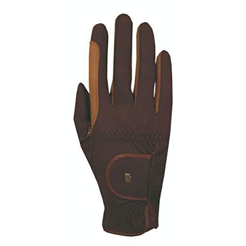 Roeckl Sports Winter Handschuh Malta, Unisex Reithandschuh, Mokka/Caramel, 8