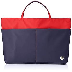 [キタムラ] バッグインバッグ ZH0376 レディース ダークブルー/レッド [紺] 10702