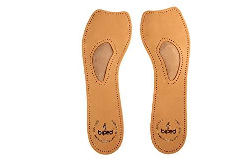 biped 4/5 Komfortstütze aus Leder orthopädische Einlagen für Pumps, Ballerinas und Sandaletten z2226(38)