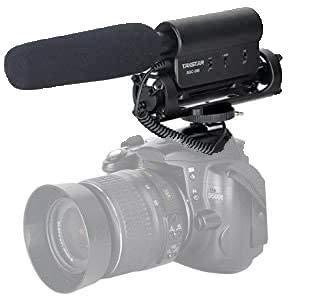 TAKSTAR SGC-598 Richtungs-Podcast-Mikrofon Aufnahme Höhenempfindlichkeit Mikrofon-Streaming Für Fotografie Kamera Interview / Studio / Youtube / Online-Unterricht Für Nikon, Canon, DV, DSLR, Camcorder