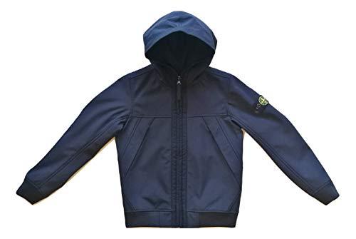 Stone Island Chaqueta con capucha para niño 7316Q0130.V00200 azul turquesa 8 años