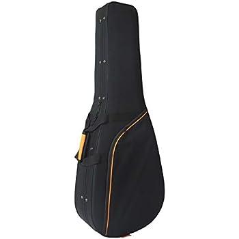 Estuche de Foam para Guitarra Clásica marca CIBELES - Negro - Perfil Naranja: Amazon.es: Instrumentos musicales