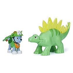 3. Paw Patrol Dino Rescue Rocky and Stegosaurus
