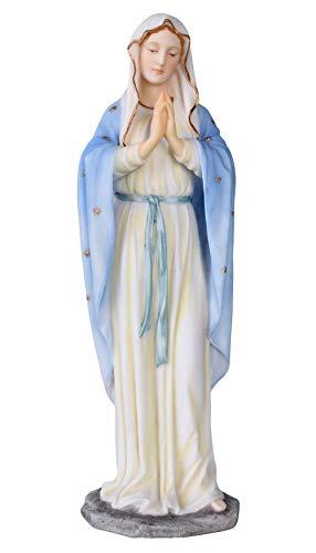 Skulptur, Figur, Büste, Statue, Statuette der Madonna, Maria aus Keramikmasse mit Handbemalung - Palazzo Exklusive