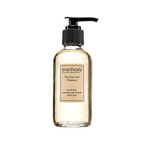 evanhealy Tea Tree Gel Cleanser with Lavender - Non-Detergent Gel for Face & Body - All Skin Types