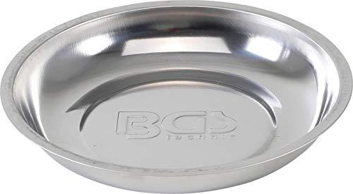 BGS 1150 | Magnetische kleefschaal | roestvrij staal | Ø 150 mm | Magnetische schaal, bord, plank | hechtbak | magnetische schroefschaal