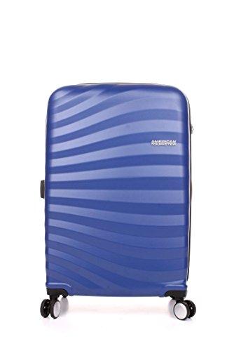 NEW Samsonite American Tourister Oceanfront Cabin 4 Wheel Suitcase - Blue