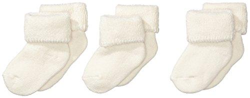 Sterntaler Erstlingssöckchen 3-er Pack, Alter: ab 0 Monate, Größe: Neugeborene (Herstellergröße 0), Ecru