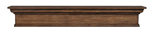 Pearl Mantels 420-60-15 Savannah Mantel Shelf, 60-inch, Taos Finish