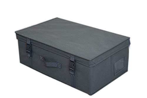 Wedcova Aufbewahrungsbox, mittelgroß, für Brautkleid, Hochzeitskleid, Aufbewahrungsbox, für Fluggesellschaftskabinen, Reisebox aus Stoff mit 10 säurefreien Seidenpapier