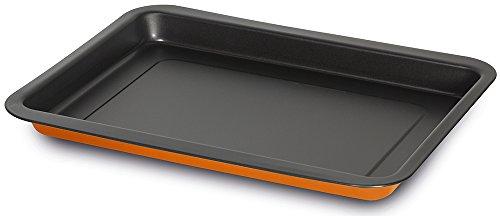 Guardini SMART COLORS MINI Plaque à four rectangulaire 22x30 cm Acier antiadhésif Orange 22x30 cm