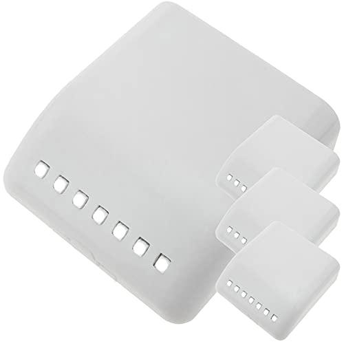BeMatik - Lumière LED avec induction de lumière portes d'armoires 4-pack