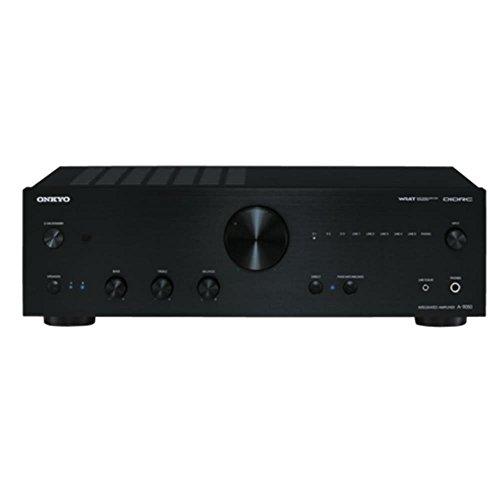 Onkyo A-9050 (B) geïntegreerde stereo versterker (DIDRC, WRAT, 75 W/kanaal) zwart