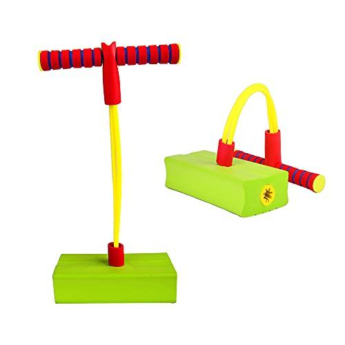ZoneYan Pogo Stick para Niños, Pogo Jumper de Espuma, Jumper de Espuma Pogo Stick, Jersey Pogo de Espuma, Saltador de Pogo de Espuma para Niños, Regalos Cumpleaños & Aire Libre Deporte Juguetes