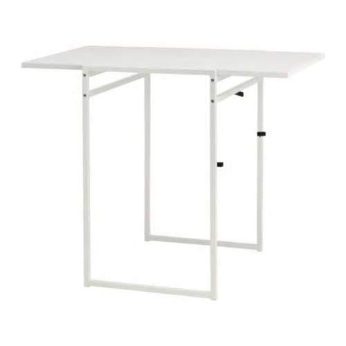 お手頃価格で機能的なアイテムが揃うIKEA。こちらのテーブルは、白一色で無駄のないデザインが魅力的。サイズは長さ92cm×幅60cmと、2人で使うのにちょうど良いですね。