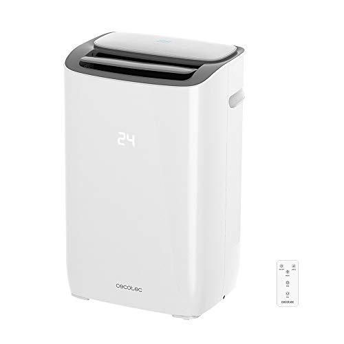 Cecotec Aire Acondicionado Portatil EnergySilence Clima 7150 Smart. 1800 Frigor'as, 3 Funciones(Fr'o, Ventilador,...