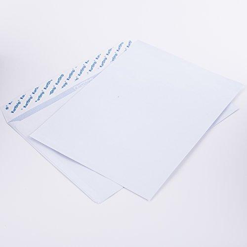 Briefumschläge DIN C5 162x229 mm weiß 80 g/m² ohne Fenster haftklebend(kein Austrocknen - bis 3 Jahre!) (C50.10E) (100)